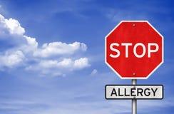 Stop Allergy Stock Photos