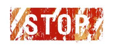 Stop background Stock Photo