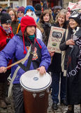 Stop the Badger Cull Protest March Royalty Free Stock Photography