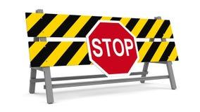 Stop barrier Stock Photos