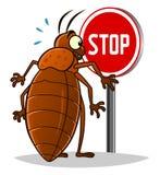 Stop bedbugs Stock Photo