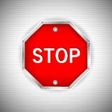Stop Board Royalty Free Stock Images