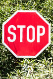Stop board Stock Photo