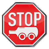 Stop bottle on wheels and alcoholism. Stop sign bottle on wheels and alcoholism Stock Photography