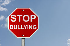 Stop Bullying Royalty Free Stock Photography