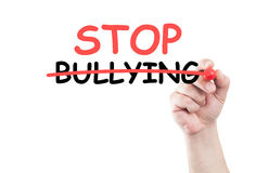 Stop bullying concept text Stock Photo
