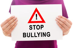 Stop bullying Stock Photography