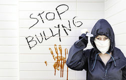 Stop bullying message Royalty Free Stock Photos