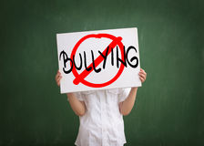 Stop bullying in the school Royalty Free Stock Photo