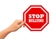 Stop bullying Royalty Free Stock Photo