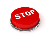 Stop button Royalty Free Stock Photography