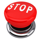 Stop button Royalty Free Stock Image
