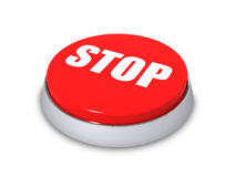 Stop button Royalty Free Stock Photos