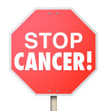 Stop Cancer Cure Disease Medical Research Treatment Recovery Royalty Free Stock Photos