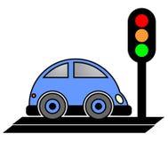 Stop car Stock Image