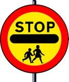 Stop Children Sign stock illustration