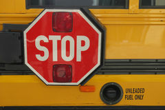 Stop for Children Royalty Free Stock Photo