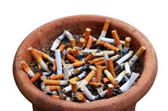 Stop Cigarette addiction Stock Photos