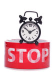 Stop the clock Stock Images