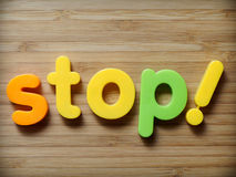 Stop concept Royalty Free Stock Image