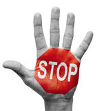Stop Concept. Stock Image