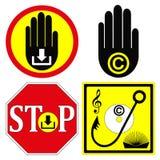 Stop Copyright Infringement Stock Photos