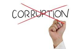 Stop Corruption Concept Stock Photos