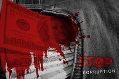 Stop corruption. Finance Stock Photo