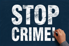 Stop Crime Stock Images
