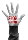 Stop Crime Stock Photos