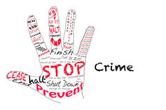 Stop Crime Stock Image