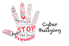 Stop Cyber Bullying Stock Images