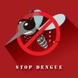 Stop Dengue Royalty Free Stock Images
