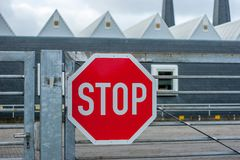 Stop - Do not enter Royalty Free Stock Images