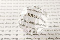 Stop drug Stock Photography
