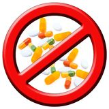 Stop Drugs! Royalty Free Stock Image