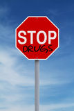 Stop Drugs royalty free stock photo