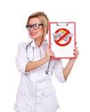 Stop drugs symbol Stock Image