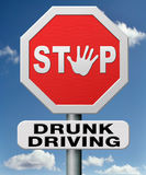 Stop drunk driving Stock Photo