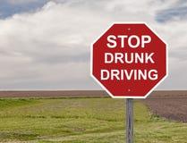 Stop Drunk Driving Stock Photos