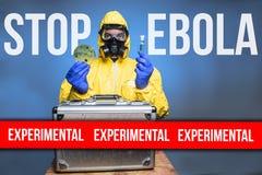 Stop Ebola Stock Photography