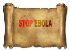 Stop ebola Stock Image