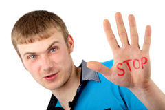 Stop factor Royalty Free Stock Image