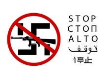 Stop fascism. Stock Photo