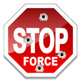 Stop force Stock Photo