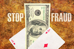 Stop fraud Royalty Free Stock Photography