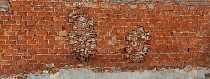 Stop gap bricks Stock Photography