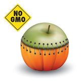 Stop genetic engineering Stock Photography