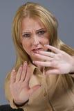 Stop gesture Stock Image