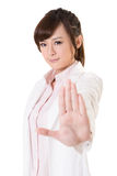 Stop gesture Royalty Free Stock Images